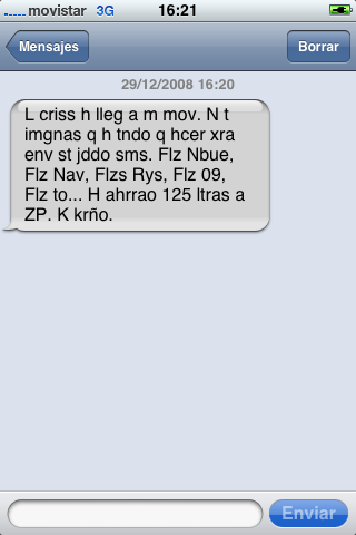 SMS Crisis