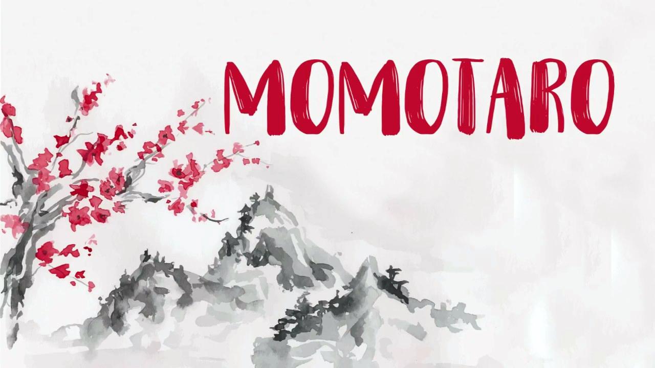 El cuento de Momotarō – 桃太郎
